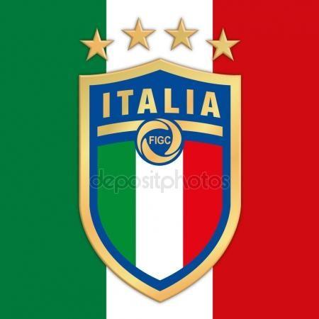 Nuovo Logo Italian Football Federation Figc Sulla Bandierina Italiana Italy National Football Team Football Football Team Logos