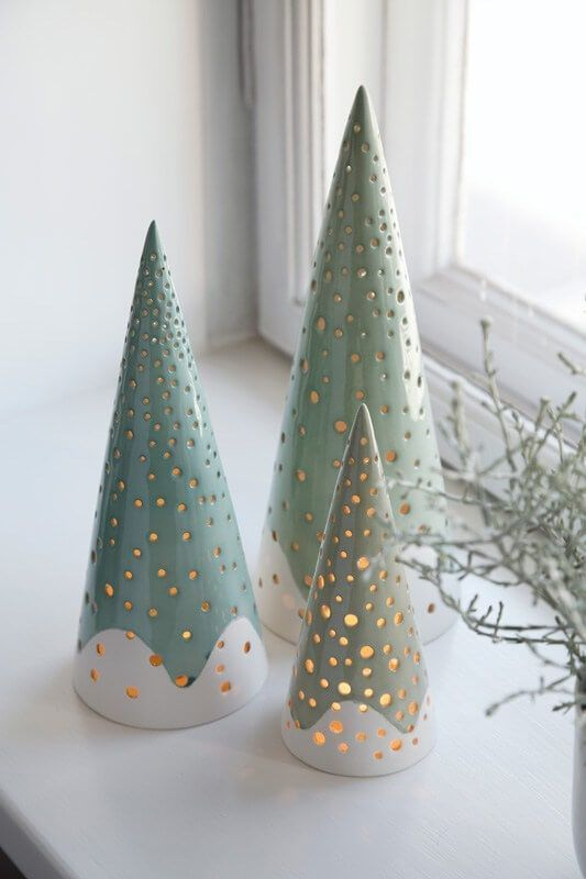 30 Most Beautiful Ceramic Christmas Trees#beautiful #ceramic #christmas #trees