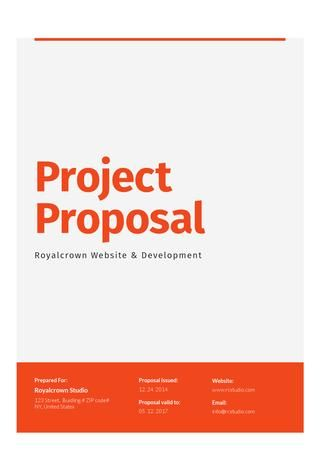 Corporate Proposal  Contract  Invoice  Proposals