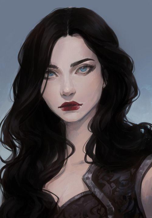 Character Art Girl ; Character Art