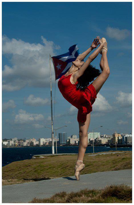 Ballet is  huge in Cuba