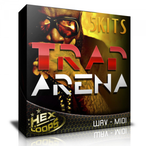 TRAP Arena Sample Pack 5 Trap Construction Kits Hex