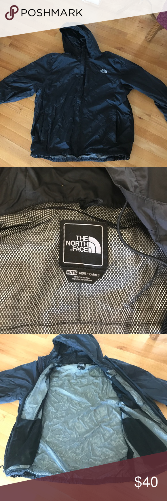 Men's North Face Rainjacket Great condition, no rips or