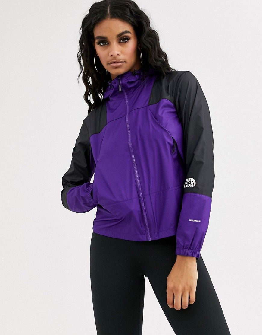 The North Face The North Face Mountain Light Windshell Jacket In Purple Thenorthface Cloth The North Face North Face Mountain Light New Outfits [ 1110 x 870 Pixel ]