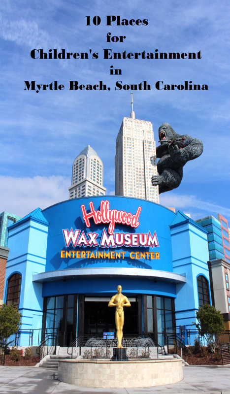 Top 10 Places In Myrtle Beach For