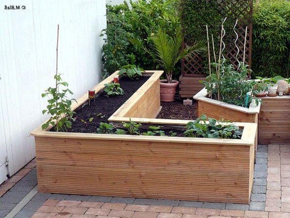 Good Hochbeet Aus Holz Im Eigenen Garten Awesome Ideas