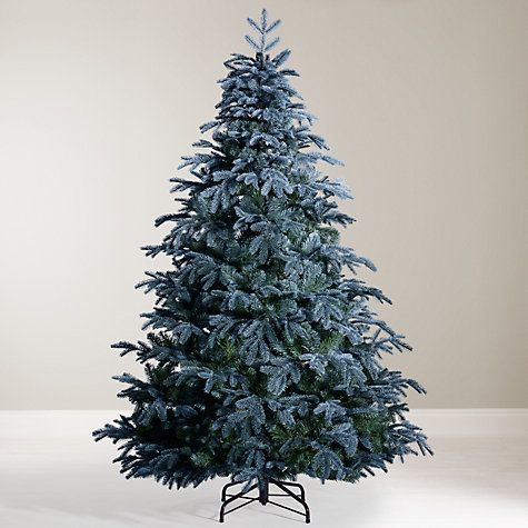 John Lewis St Petersburg Blue Christmas Tree 7ft Blue Christmas Tree Unlit Christmas Trees Christmas Tree