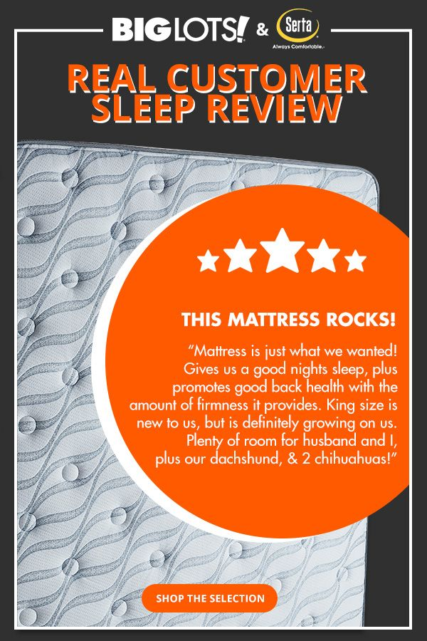 With our extensive selection of mattress sets from Serta