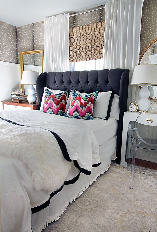 bedroom revamp the bed home pinterest tufted
