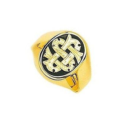 Chevalière Or jaune, chevalière pour homme, 8 grammes, 18 carats, Onyx, f15c87ec04c