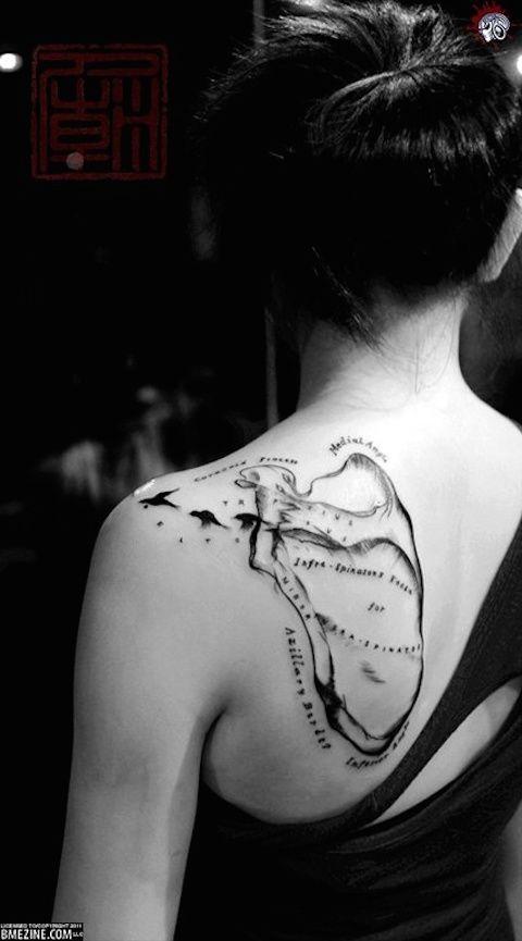 Cuando el tatuaje muestra lo que la piel esconde | forensic ...