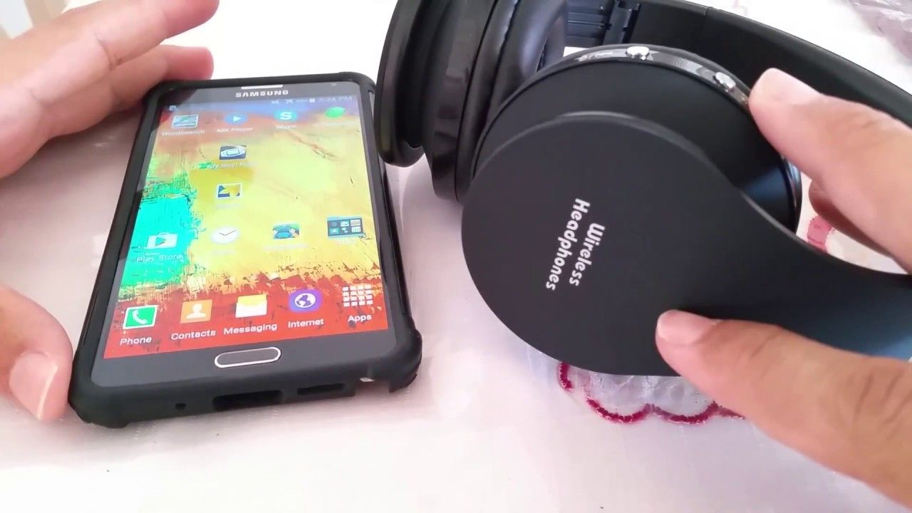 How To Connect Wireless Headphones To Samsung Note 3 Wireless Headphones Android Phone Wireless