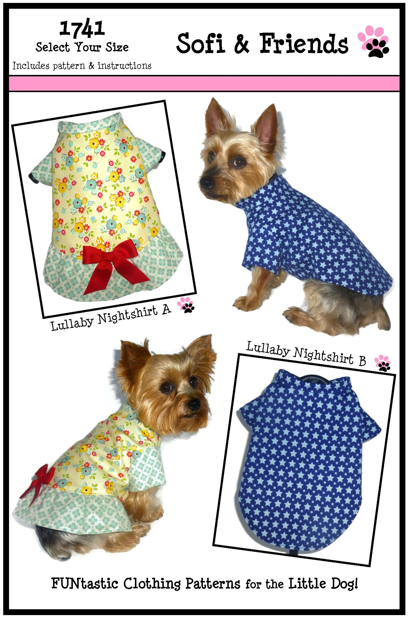 Dog Pajama Pattern Magnificent Design
