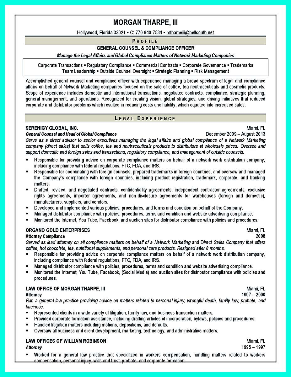 Nice best compliance officer resume to get manager s attention resume template resume - Compliance officer interview ...
