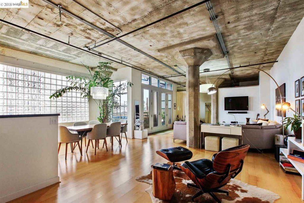 Industrial onebedroom loft in Jack London Square asks