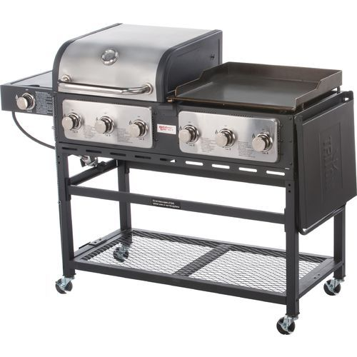 Outdoor Gourmet Pro Triton 7 Burner Propane Grill And Griddle Combo Propane Grill Grilling Best Outdoor Grills