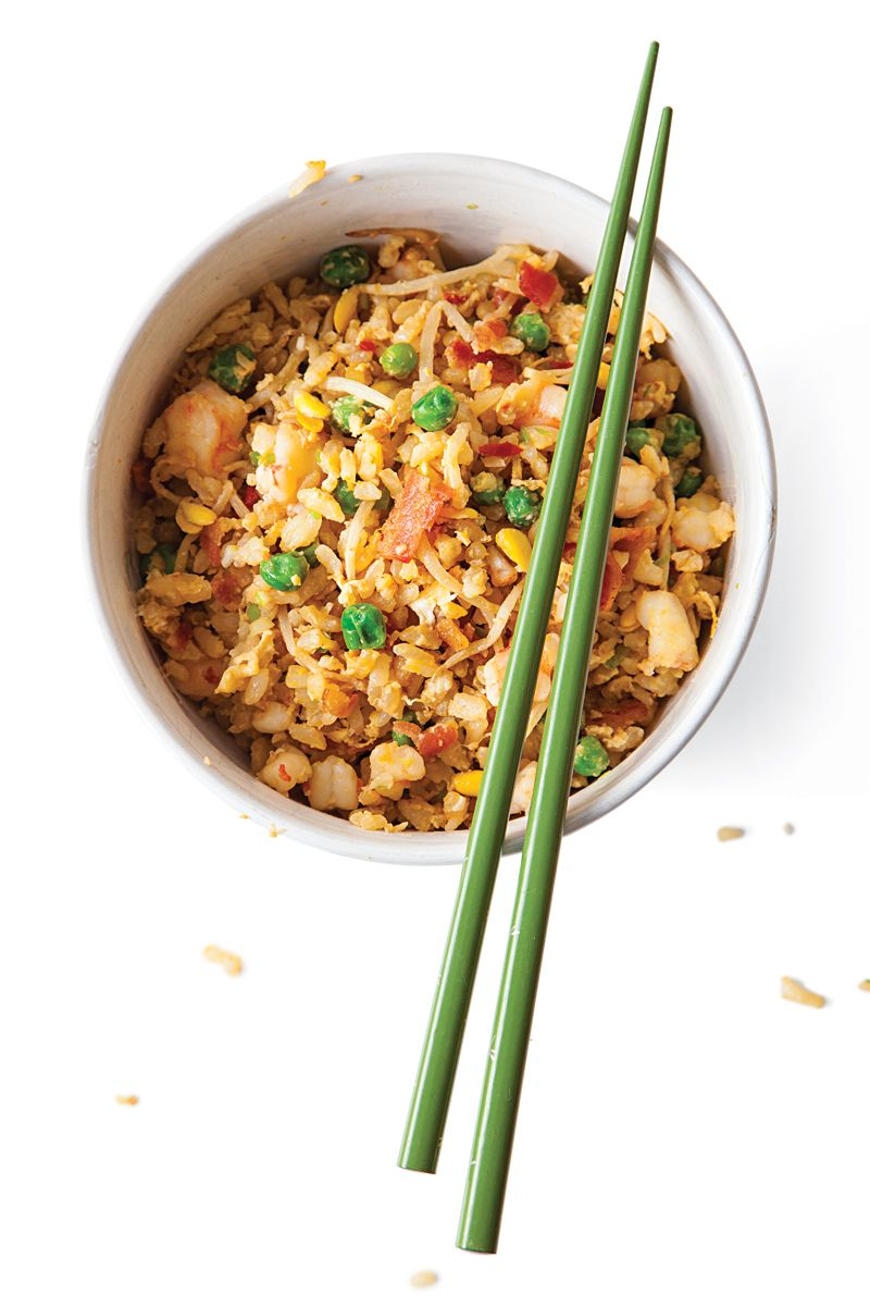 Bacon and Shrimp Fried Rice | SAVEUR