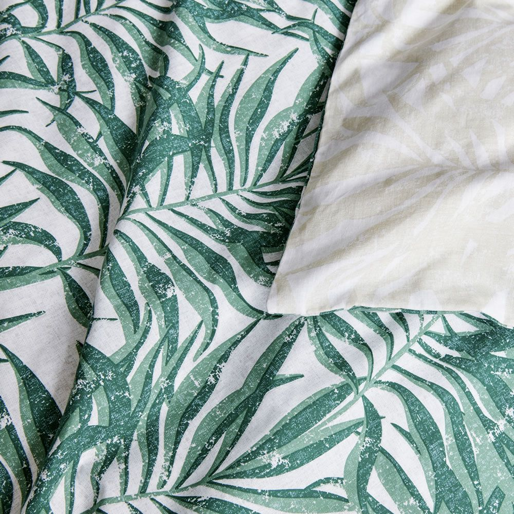 Tropical Leaves Easy Care King Size Duvet Set Artofit Now you can save money and do your. artofit
