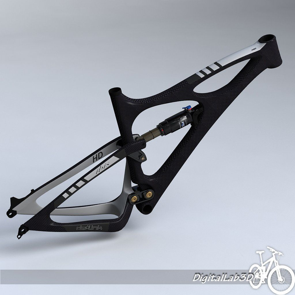 Bike Frame Mojo Hd Ready Animation Color Map Bike Frame Bike 3d Model