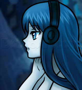 Anime Music Girl on DragoArt THINGS I MUST DRAW
