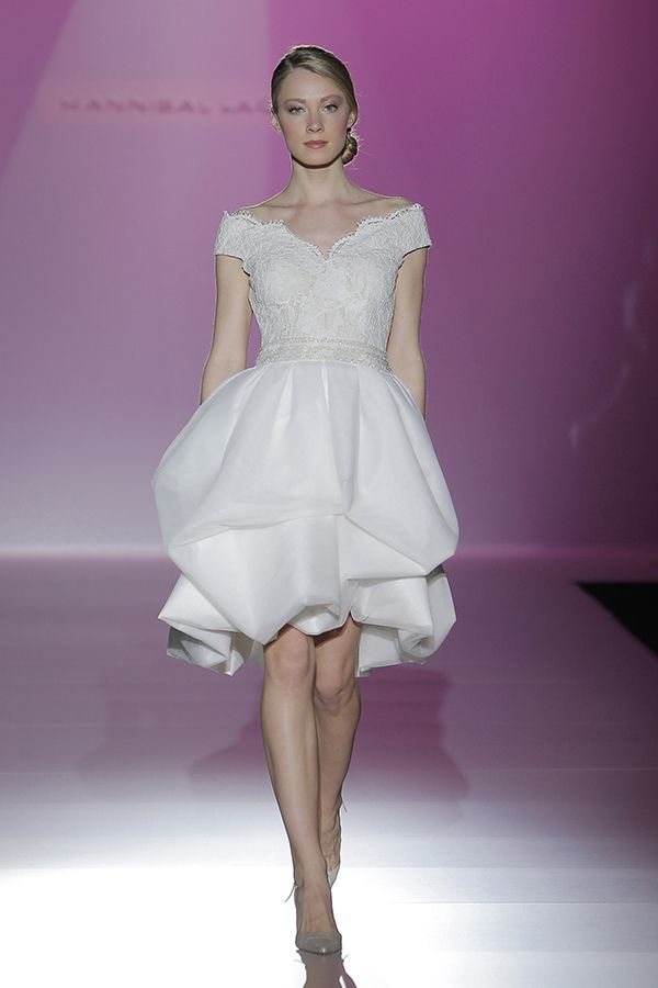 Vestidos de novia de Hannibal Laguna 2014 #boda #vestidos   Short ...