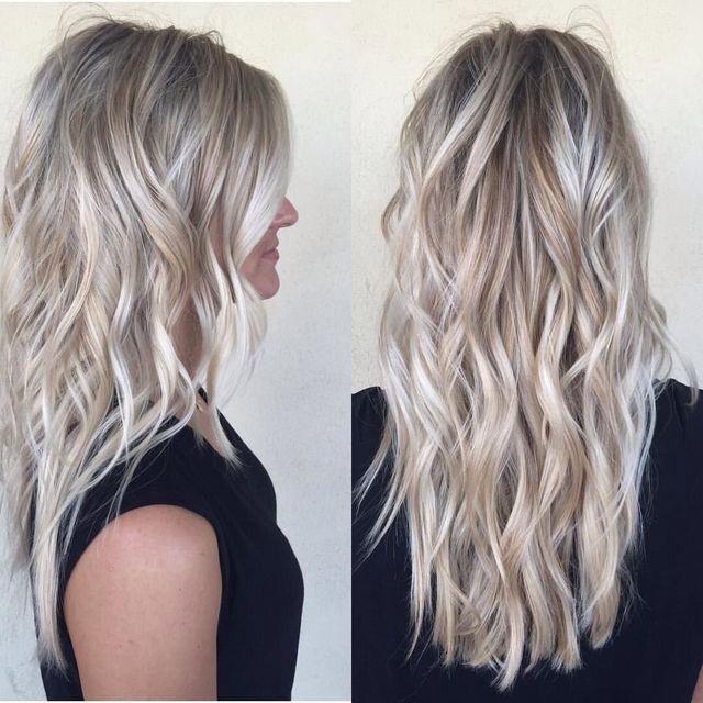 aske blond hår