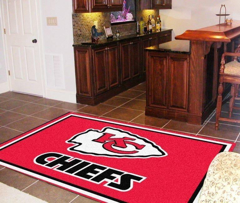 Kansas City Chiefs 5x8 Rug