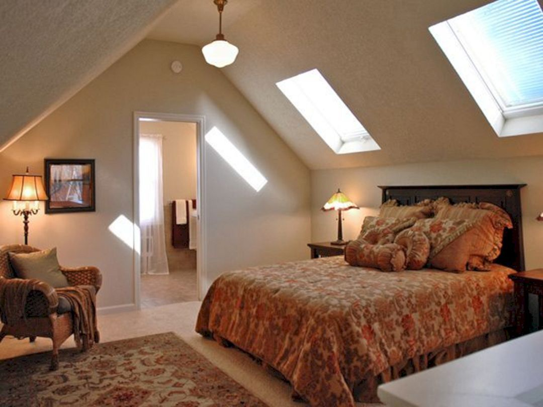 35 Gorgeous Attic Master Bedroom Ideas On A Budget Freshouz Com Remodel Bedroom Attic Master Bedroom Attic Master Suite