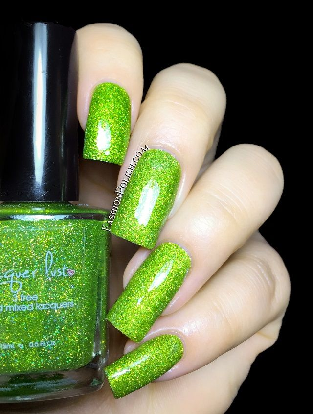 Fashion Polish: NEW Lacquer Lust Suedes and Glitter Jellies -Lime ...