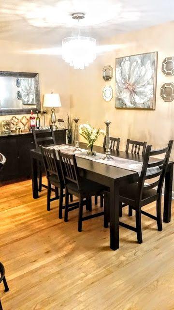 A Jolly Home Farmhouse Dining Room Ikea Dining Room Farmhouse