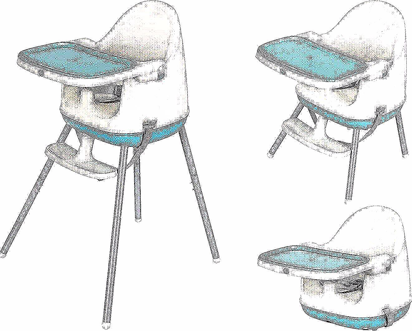 Mamabrum Chaise Haute Pour Bebe 3 En 1 Siege De Voyage Pour Table