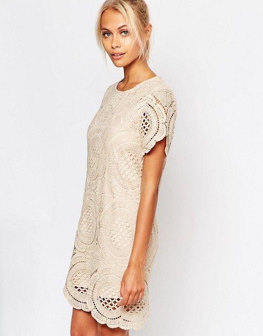 Fashion Union Dress in Crochet