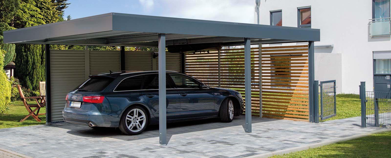 Bilder - Carport, Garage, Gerätehäuser von Siebau | DeSoto: modern ...