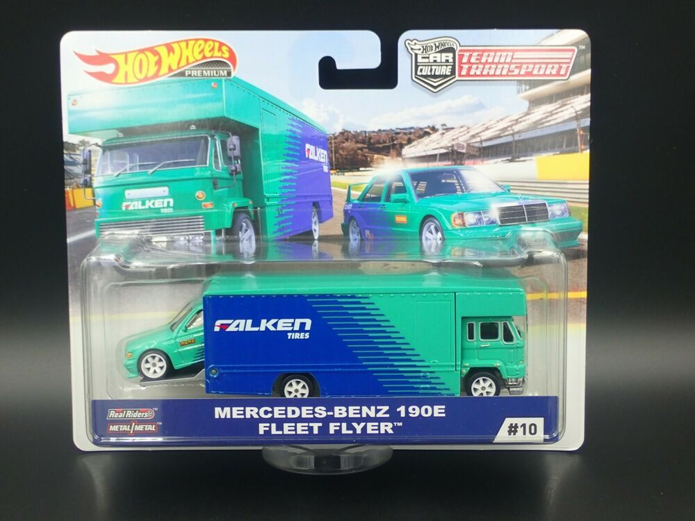 2019 Hot Wheels Car Culture Team Transport Falken Tires 1 64 Scale