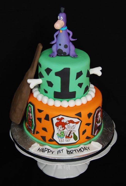 The Flintstones Rock Band Figures Cake Topper