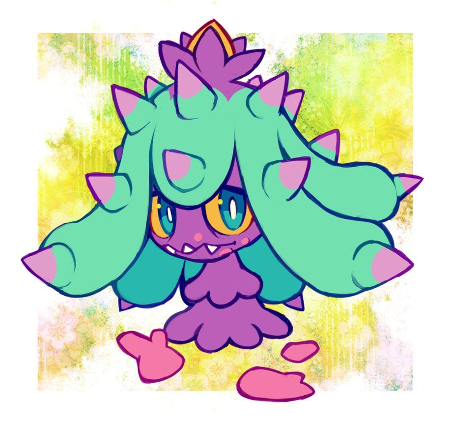 It looks cute But then you see the Corsola bits in front of it Yeah it does that but it kind of has to to survive Which makes it even funnier that it can breed with corsola