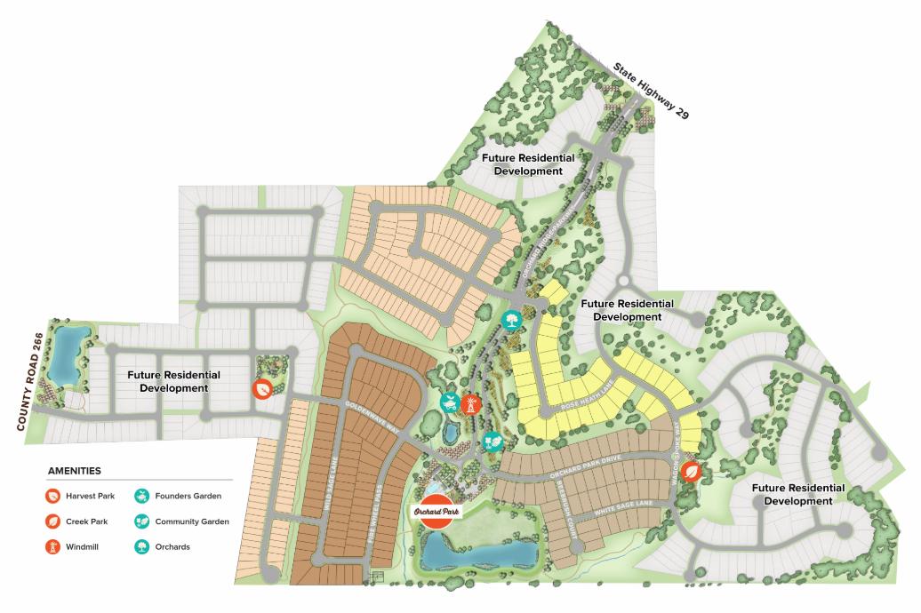 Orchard Ridge —Builder Boost Austin Resort style pool