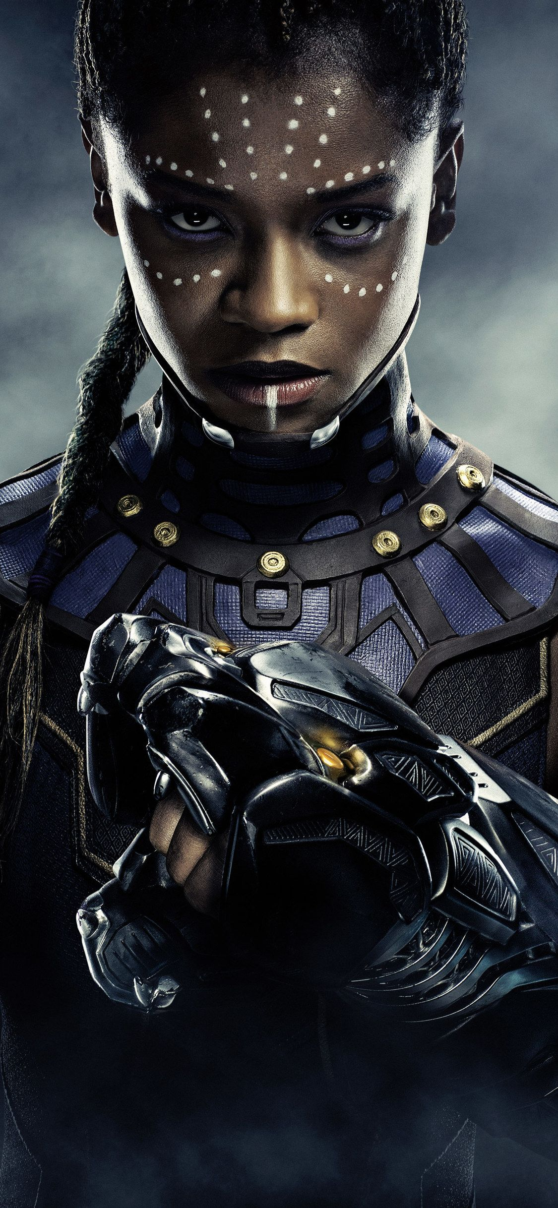 1125x2436 Letitia Wright Black Panther 5k Iphone Xs Iphone 10 Iphone X Hd 4k Wallpapers Black Panther Character Black Panther Marvel Black Panther Movie Poster