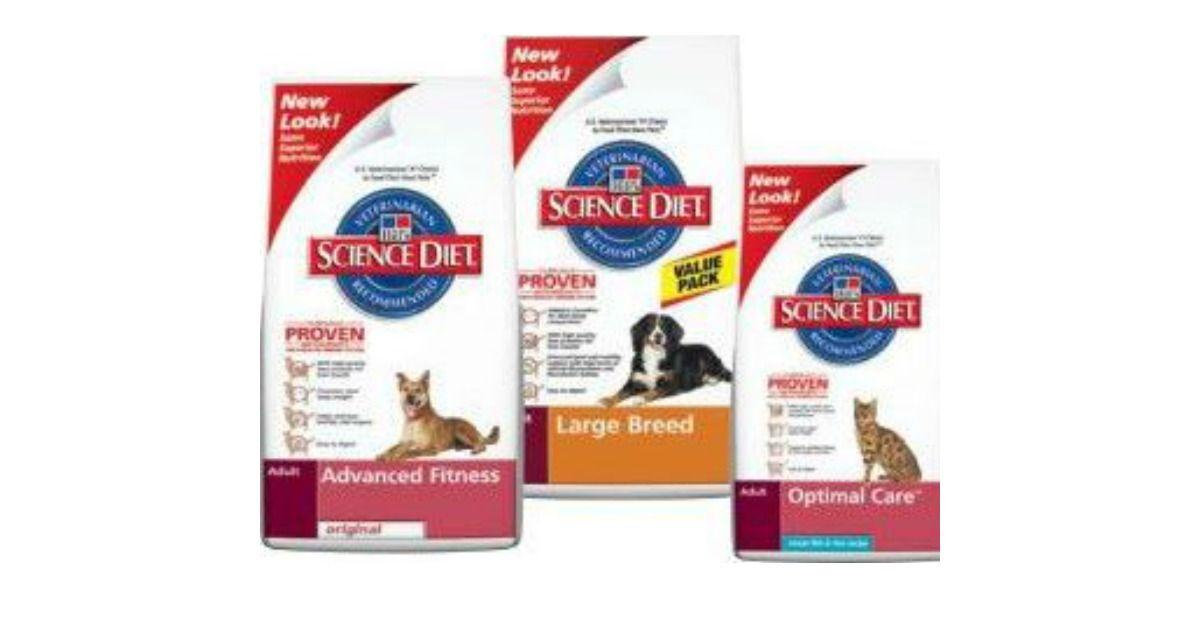 Snag A F R E E Bag Of Pet Food Science Diet Hills Science Diet