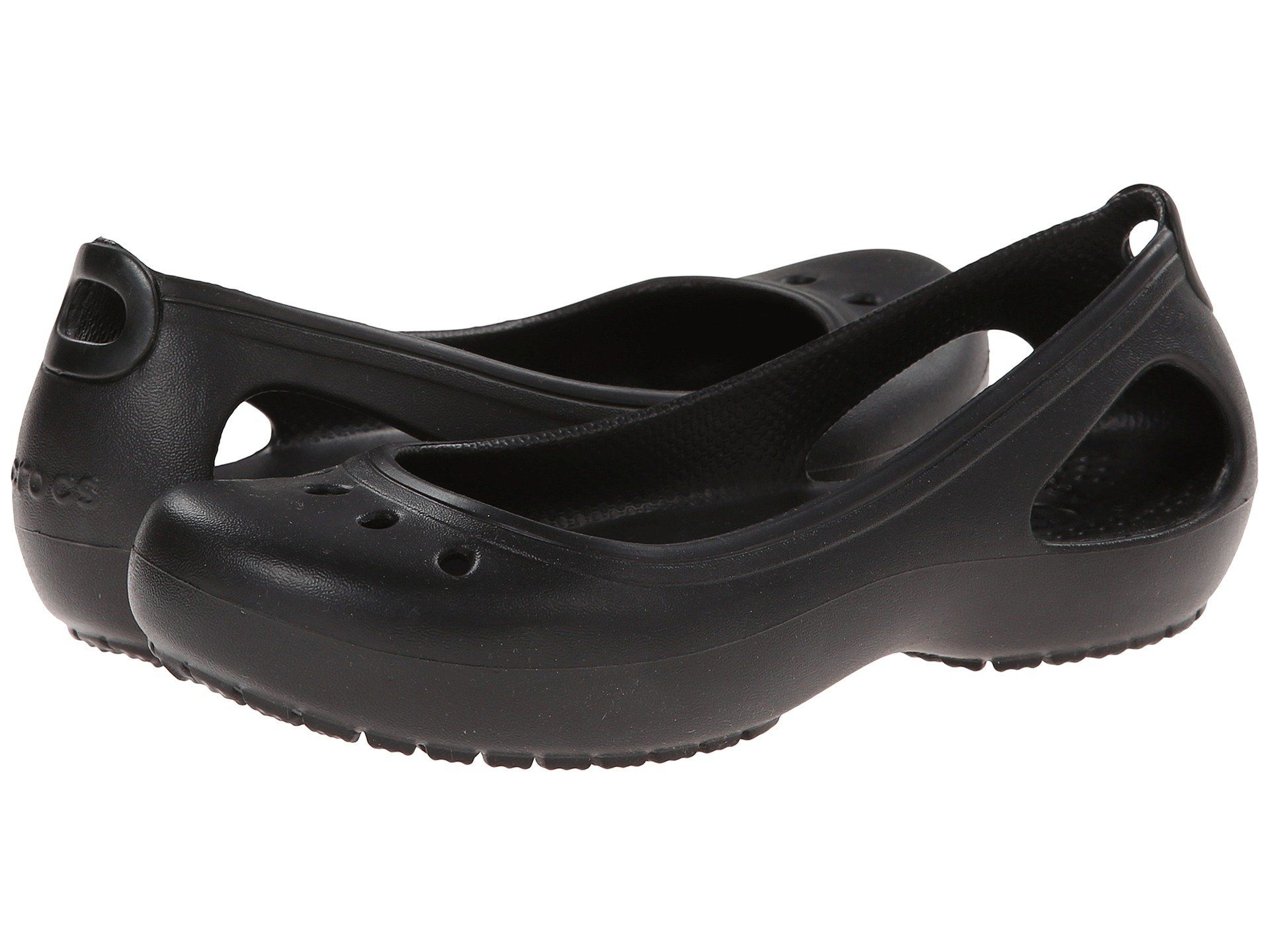 3c338fcb211220 The Crocs™ Kadee women s flat is a ballerina-inspired shoe featuring  classic form-to-foot Croslite™ construction and easy sl