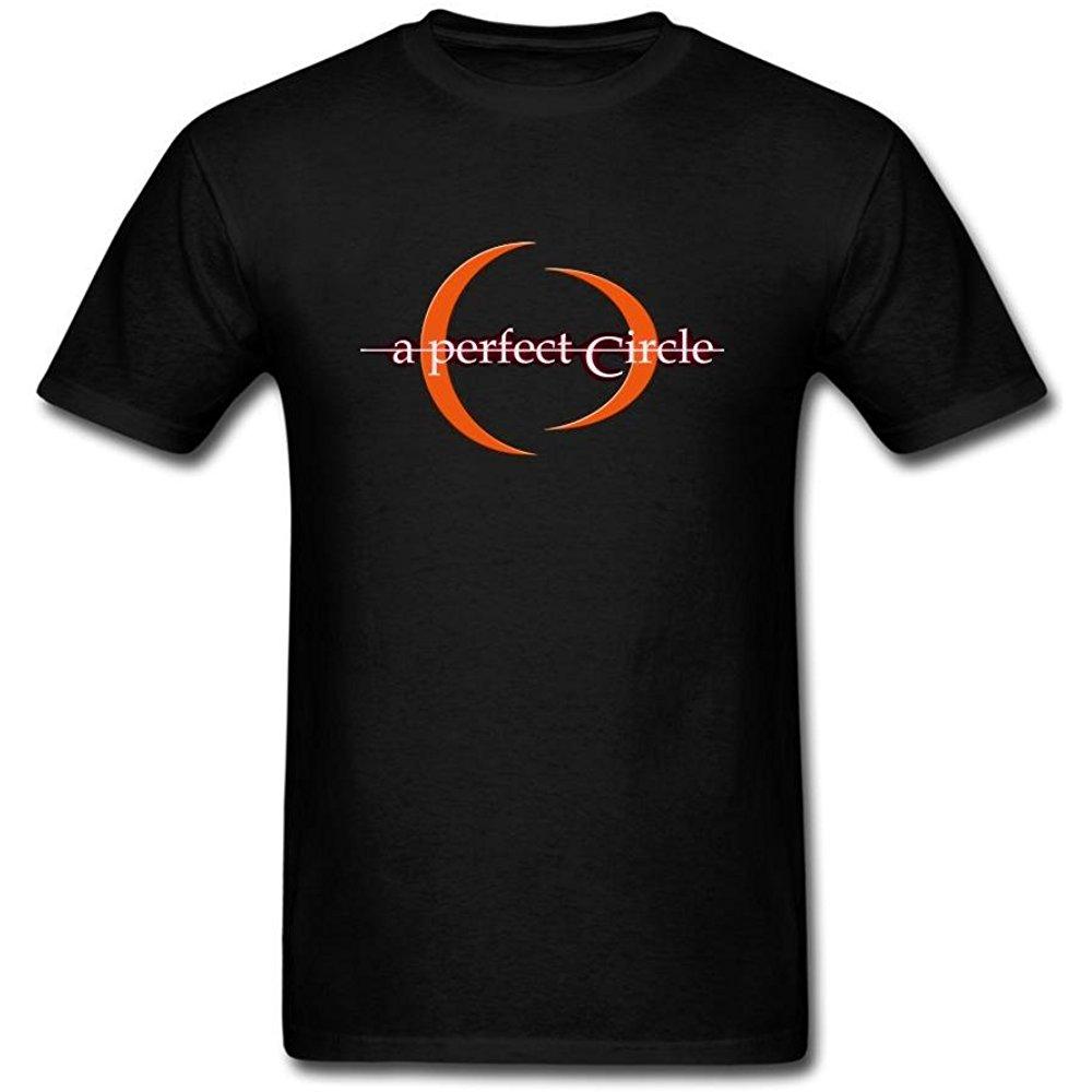 Tianrunyg Mens A Perfect Circle Rock Band Logo Short Sleeves T Shirt S T Shirts S Shirts Logo Shorts