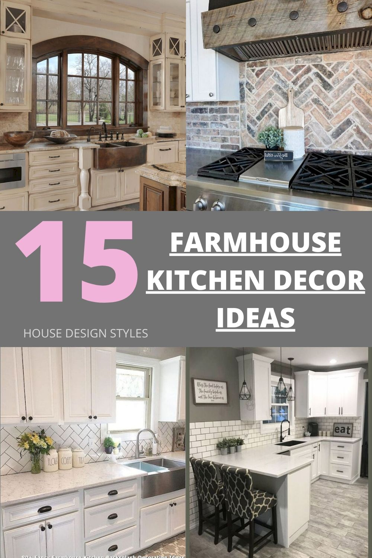 Farmhouse Kitchen Decoration Ideas In 2020 Farmhouse Kitchen Decor Unique Farmhouse Decor Kitchen Decor
