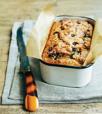 Eating a slice of this bread may actually improve your health. Blueberries are a great source of antioxidants and oats are known to lower your cholesterol levels. So you can enjoy it guilt free.