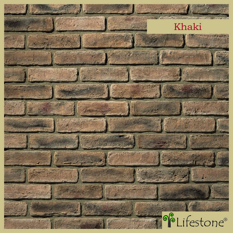 Lifestone A Premium Cluster Stone Manufacturer In Bangalore India Introduces A Antique Look Khakhi Colon Exterior Wall Cladding Brick Cladding Wall Cladding