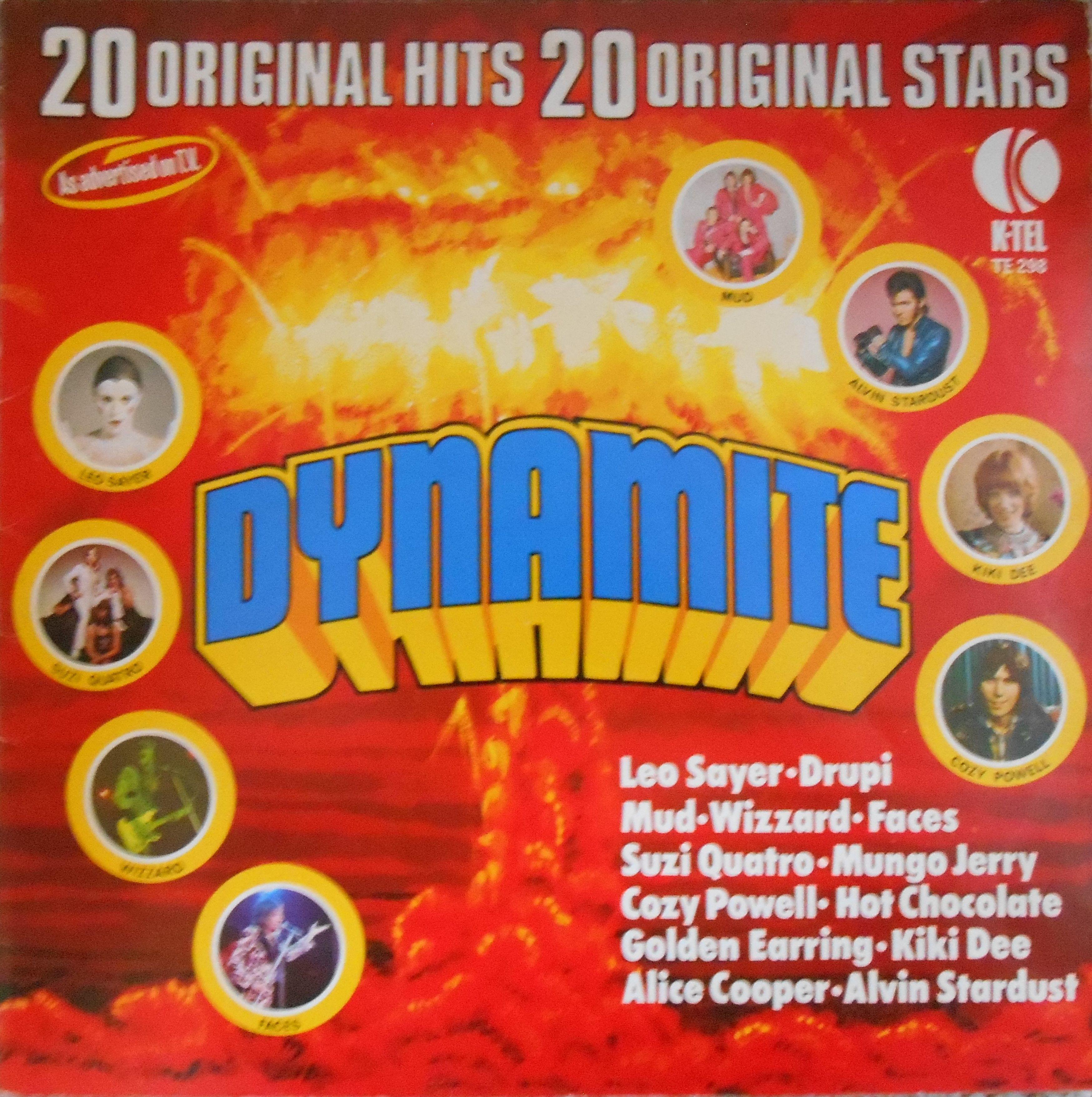 Comp Dynamite K Tel 1974 Childhood Memories 70s Vinyl Vintage Memory
