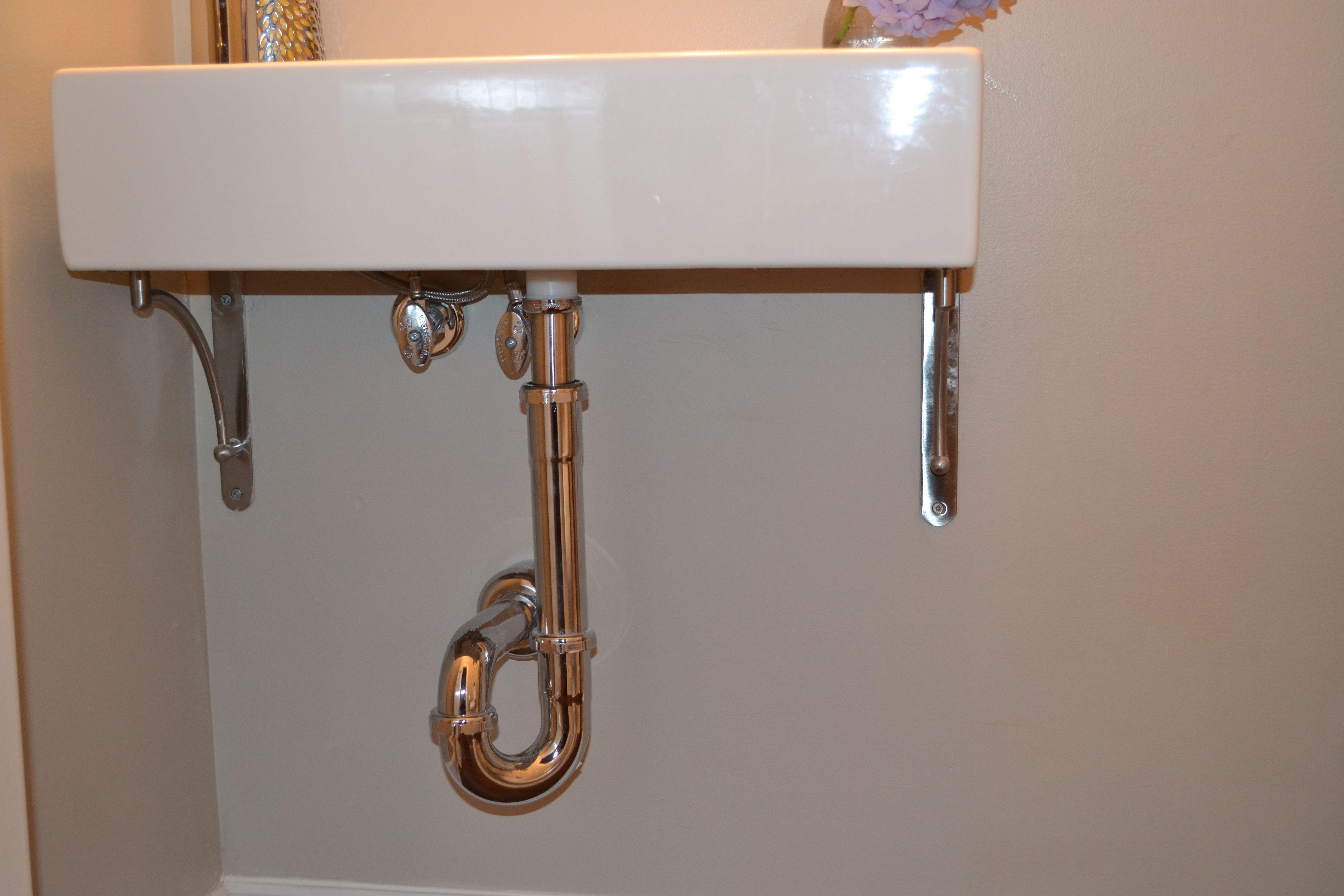 Incroyable Wall Mounted Sink Ikea Wall, Room Additions, Bath Ideas, Bathroom Ideas,  Wall