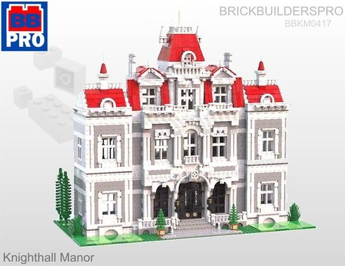 Knighthall Manor Modular Pdf Lego Instructions Legomodular