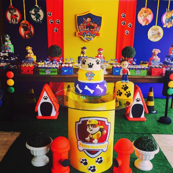 Pin by fiestas 101 on decoraci n de fiestas pinterest - Decoracion de la patrulla canina ...
