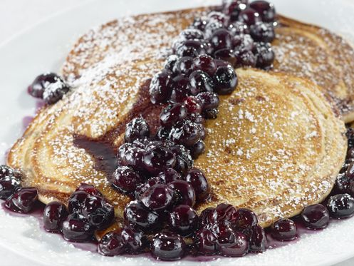 Get ready for mothers day brunch or breakfast tomorrow in this clip in this clip from my video recipe for sour cream buttermilk blueberry pancakes i share one of my secrets for getting the best ccuart Image collections