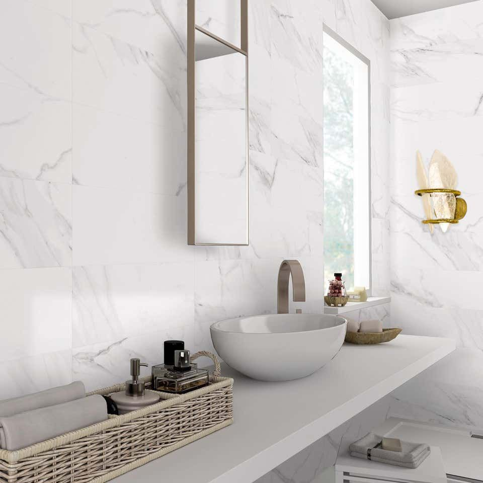 Two Free Contemporary Wall Lamp Rock Crystal Cast Melted Brass In 2020 Marble Wall Tiles Marble Tile Bathroom Marble Bathroom Floor